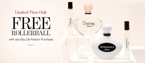 Limited Time Only. Free Rollerball with any Eau De Parfum Purchase. Click for Details.
