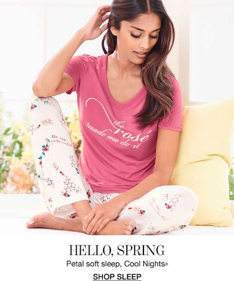 Hello, Spring. Petal soft sleep, Cool Nights®. Shop Sleep