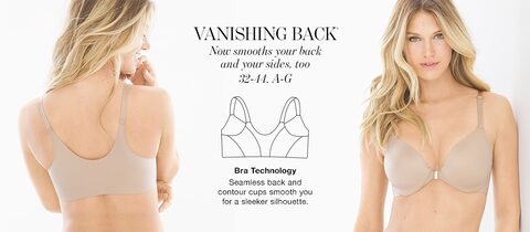 db01a3a6e6044 Shop Smoothing Bras - Vanishing Back Collection - Soma