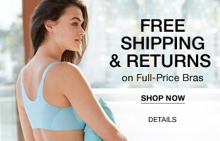 Free Shipping & Returns on Full-Price Bras. Shop Now.
