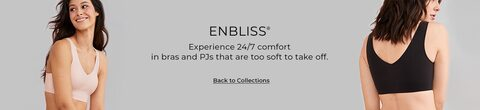 Enbliss - Experience 24/7 comfort in bras and PJs that are too soft to take off. Back to Collections