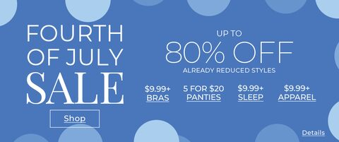 Fourth of July Sale. Up to 80% Off already reduced styles. Shop.