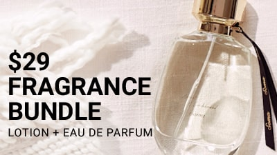 $29 Fragrance Bundle. Lotion + Eu De Parfum.