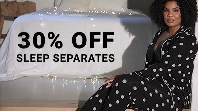 30% Off Sleep Separates