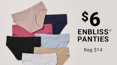 $6 Enbliss Panties. Reg $14